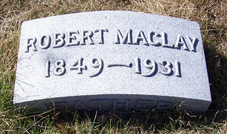 POMEROY, ROBERT MACLAY - Shelby County, Iowa | ROBERT MACLAY POMEROY