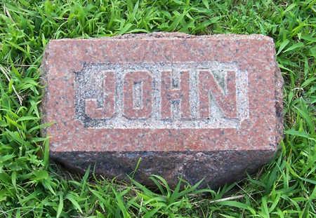 PORTER, JOHN - Shelby County, Iowa | JOHN PORTER