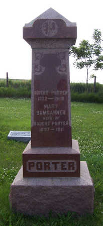 BUMGARNER PORTER, MARY - Shelby County, Iowa | MARY BUMGARNER PORTER