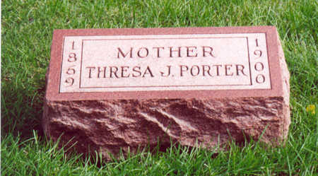 PORTER, THRESA J. - Shelby County, Iowa | THRESA J. PORTER