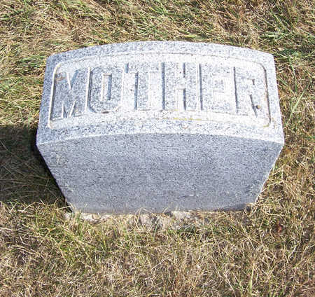 POTTER, CORA E. (MOTHER) - Shelby County, Iowa | CORA E. (MOTHER) POTTER