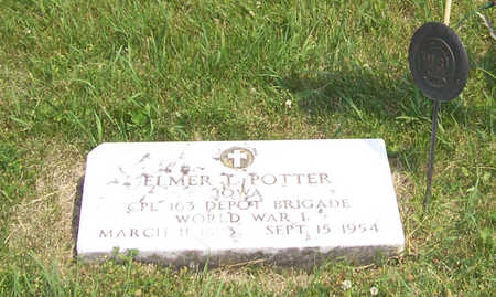 POTTER, ELMER L. - Shelby County, Iowa | ELMER L. POTTER