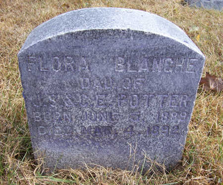 POTTER, FLORA BLANCHE - Shelby County, Iowa | FLORA BLANCHE POTTER