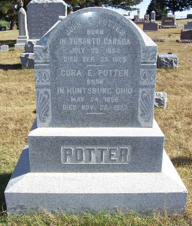 POTTER, CORA E. - Shelby County, Iowa | CORA E. POTTER