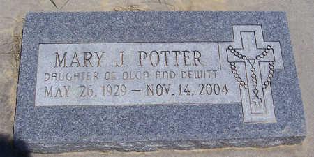 POTTER, MARY J. - Shelby County, Iowa | MARY J. POTTER