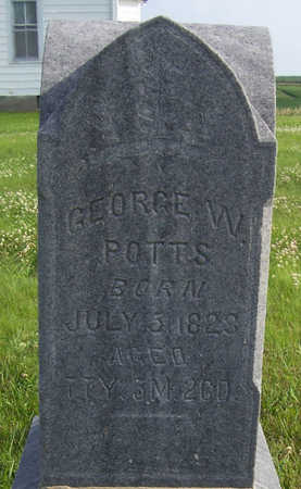 POTTS, GEORGE W. - Shelby County, Iowa | GEORGE W. POTTS