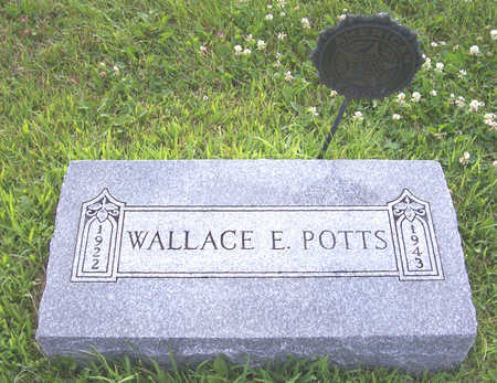 POTTS, WALLACE E. - Shelby County, Iowa | WALLACE E. POTTS