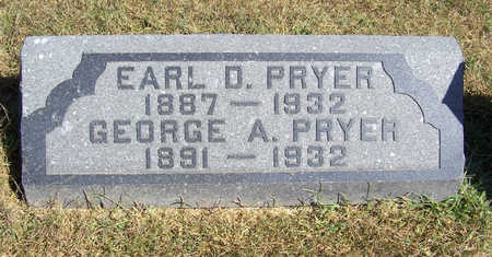 PRYER, EARL D. - Shelby County, Iowa | EARL D. PRYER