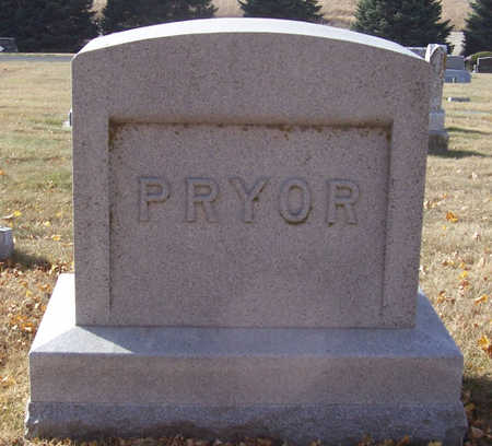 PRYOR, ARTHUR & EMMA (LOT) - Shelby County, Iowa | ARTHUR & EMMA (LOT) PRYOR