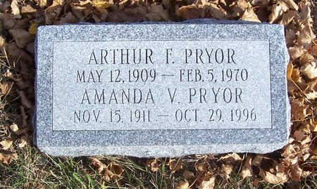PRYOR, AMANDA V. - Shelby County, Iowa | AMANDA V. PRYOR