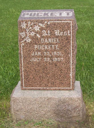 PUCKETT, DANIEL - Shelby County, Iowa | DANIEL PUCKETT