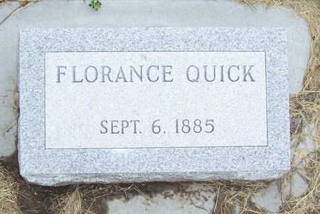 QUICK, FLORANCE - Shelby County, Iowa | FLORANCE QUICK