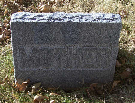 RAMSEY, ANN (MOTHER) - Shelby County, Iowa | ANN (MOTHER) RAMSEY