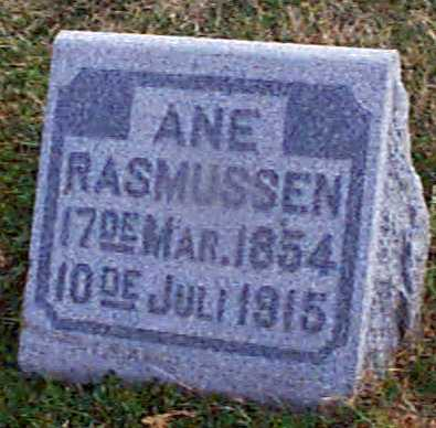 RASMUSSEN, ANE - Shelby County, Iowa | ANE RASMUSSEN