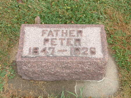 RASMUSSEN, PETER - Shelby County, Iowa   PETER RASMUSSEN