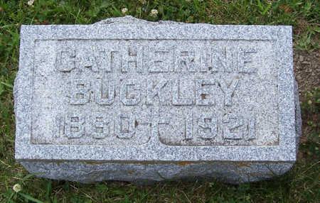 BUCKLEY, CATHERINE - Shelby County, Iowa | CATHERINE BUCKLEY