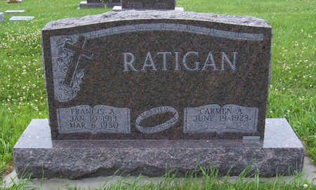 RATIGAN, FRANCIS A. - Shelby County, Iowa | FRANCIS A. RATIGAN