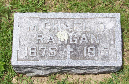 RATIGAN, MICHAEL D., SR. - Shelby County, Iowa | MICHAEL D., SR. RATIGAN