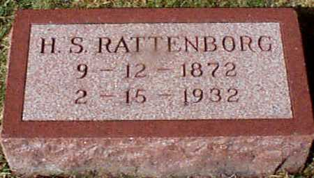 RATTENBORG, HANS S - Shelby County, Iowa | HANS S RATTENBORG