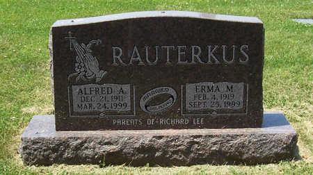 HUGHES RAUTERKUS, ERMA M. - Shelby County, Iowa | ERMA M. HUGHES RAUTERKUS