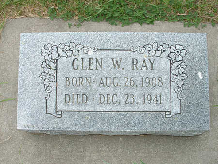 RAY, GLEN W - Shelby County, Iowa | GLEN W RAY