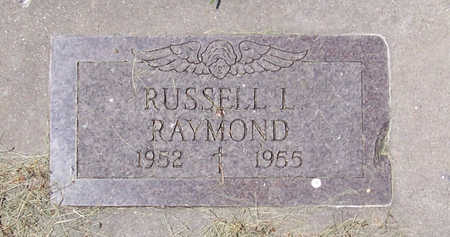 RAYMOND, RUSSELL L. - Shelby County, Iowa | RUSSELL L. RAYMOND