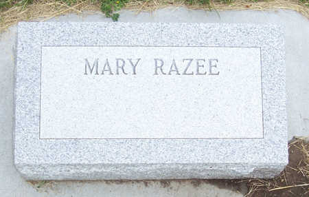 RAZEE, MARY - Shelby County, Iowa | MARY RAZEE