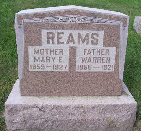 REAMS, MARY E. (MOTHER) - Shelby County, Iowa | MARY E. (MOTHER) REAMS