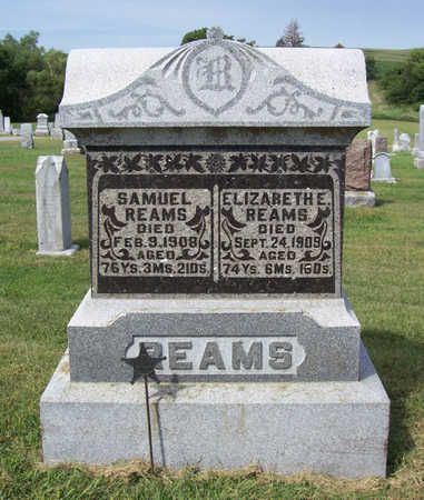 REAMS, SAMUEL - Shelby County, Iowa | SAMUEL REAMS