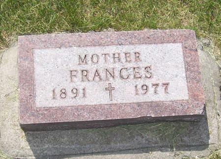 REDING, FRANCES - Shelby County, Iowa | FRANCES REDING