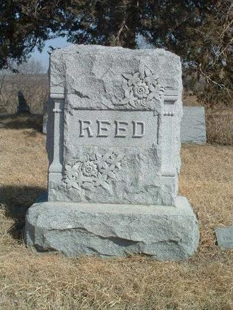 REED, HEADSTONE - Shelby County, Iowa | HEADSTONE REED