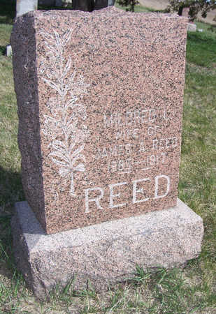 REED, MILDRED L. - Shelby County, Iowa | MILDRED L. REED