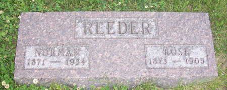 REEDER, NORMAN - Shelby County, Iowa | NORMAN REEDER
