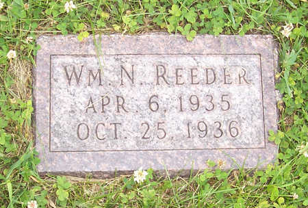 REEDER, WM. N - Shelby County, Iowa | WM. N REEDER