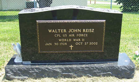 REISZ, WALTER JOHN (MILITARY) - Shelby County, Iowa | WALTER JOHN (MILITARY) REISZ