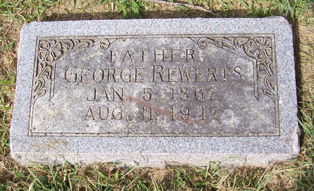 REWERTS, GEORGE (FATHER) - Shelby County, Iowa | GEORGE (FATHER) REWERTS