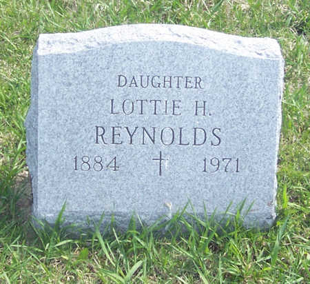 REYNOLDS, LOTTIE H. - Shelby County, Iowa | LOTTIE H. REYNOLDS