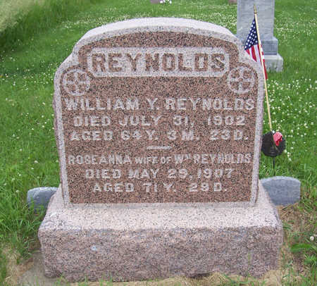 REYNOLDS, WILLIAM Y. - Shelby County, Iowa | WILLIAM Y. REYNOLDS