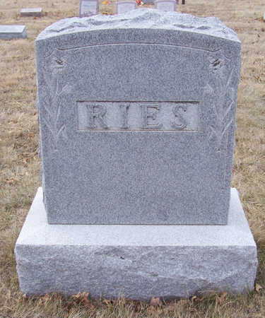 RIES, TULLIA E. (LOT) - Shelby County, Iowa | TULLIA E. (LOT) RIES