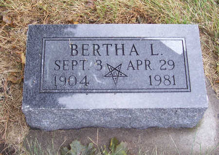 RIHNER, BERTHA L. - Shelby County, Iowa | BERTHA L. RIHNER