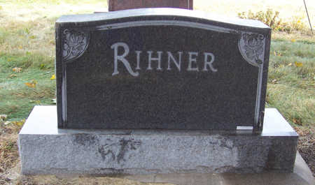RIHNER, WILBER L. & BERTHA L. (LOT) - Shelby County, Iowa | WILBER L. & BERTHA L. (LOT) RIHNER