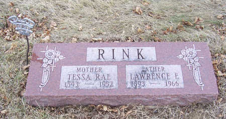 RINK, LAWRENCE E. (FATHER) - Shelby County, Iowa | LAWRENCE E. (FATHER) RINK