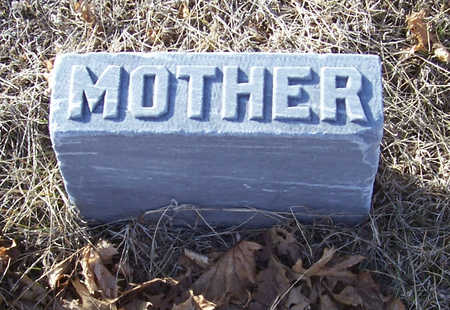 RITTER, SOPHIA (MOTHER) - Shelby County, Iowa | SOPHIA (MOTHER) RITTER