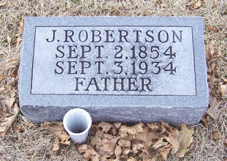 ROBERTSON, J. (FATHER) - Shelby County, Iowa | J. (FATHER) ROBERTSON