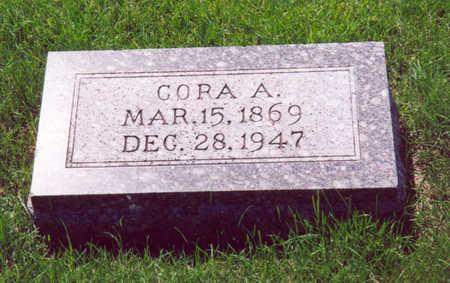 ROSENOW, CORA A. - Shelby County, Iowa | CORA A. ROSENOW