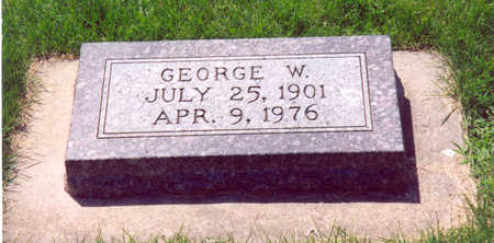 ROSENOW, GEORGE W. - Shelby County, Iowa | GEORGE W. ROSENOW