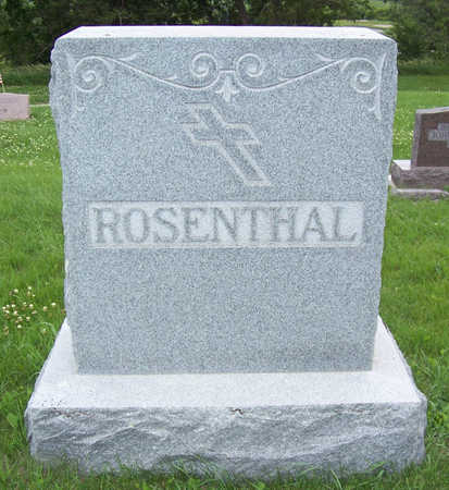 ROSENTHAL, CLARA (LOT) - Shelby County, Iowa | CLARA (LOT) ROSENTHAL