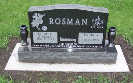 ROSMAN, LOUIS G. - Shelby County, Iowa | LOUIS G. ROSMAN