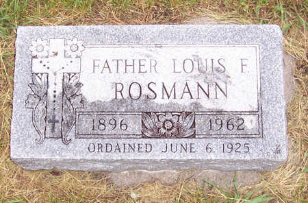 ROSMANN, FATHER LOUIS F. - Shelby County, Iowa | FATHER LOUIS F. ROSMANN