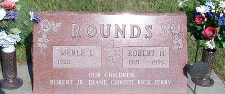 ROUNDS, ROBERT H. (MILITARY) - Shelby County, Iowa | ROBERT H. (MILITARY) ROUNDS